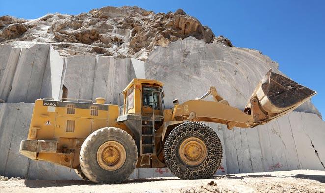 مراحل تولید و فرآوری سنگ