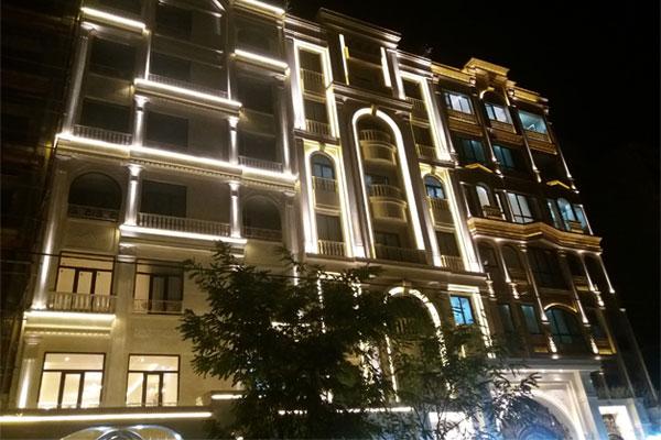 پنج فاکتورمهم درنورپردازی نمای ساختمان